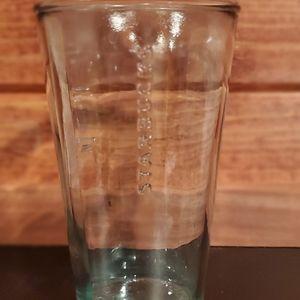 VTG Starbucks Green Glass Recycled Tumbler